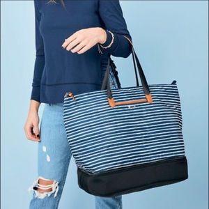 NEW Stella & Dot Striped Crush It Bag